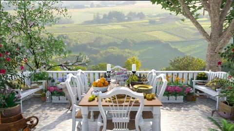 Design 102 Tuscan Garden - Garden  - by Daisy320