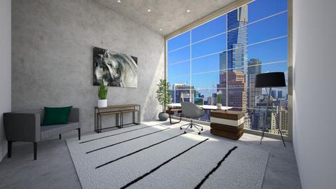 office - Modern - Office - by ak designs