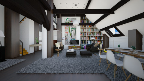 my dream home - Modern - Living room  - by Evangeline_The_Unicorn