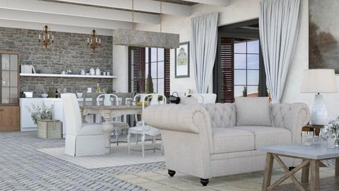 Toscana - Living room  - by Charipis home