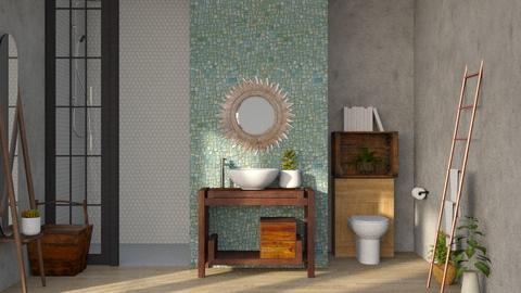 Kona - Bathroom  - by CitrusSunrise