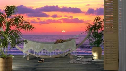Enjoy the sunset - Garden  - by meggle