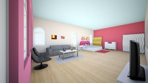 Rachels Bright Bedroom - Bedroom  - by bohlrachel