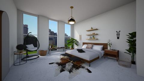 too many plants - Bedroom  - by herrincook