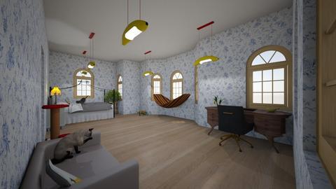 isabellas bedroom - Bedroom  - by Isabellasmum