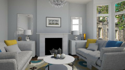 Symmetry - Modern - Living room  - by Thrud45