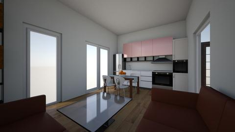 project1a - Modern - Living room  - by digitalblue