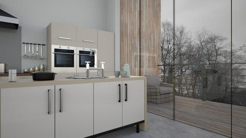 Skandi Kitchen - Modern - Kitchen - by CAD Service UK