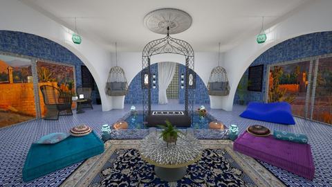 Cortile marocchino - Garden  - by Sara87
