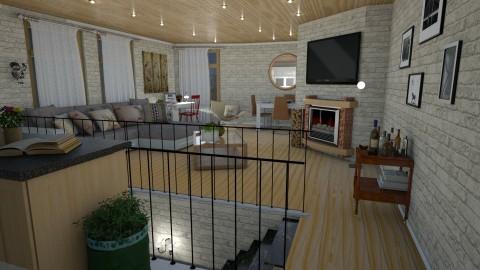 second floor - Modern - Living room  - by Brubs Schmitt