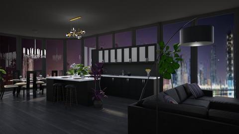 Night Penthouse - Modern - by millerfam