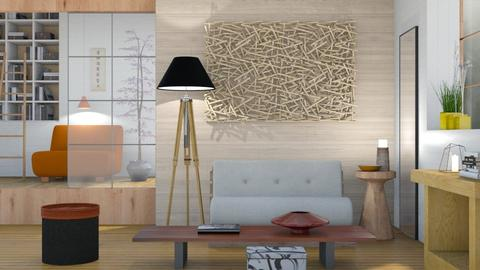 Minimal Zen - Minimal - Living room  - by Sally Simpson