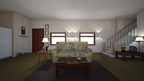 BC Set Design_Kya Kelly - Living room  - by KyaKelly