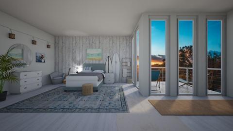 surf bedroom - Bedroom  - by freewillie