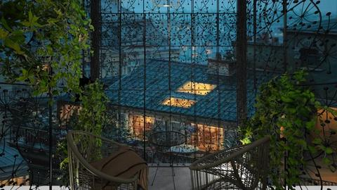 Casa255Balcony - Modern - Garden  - by nickynunes