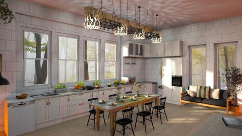 Sunny_Autumn - Kitchen  - by ZuzanaDesign