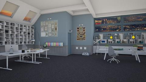 Gilbert Grissom - Eclectic - Office  - by deleted_1574768015_Elenn