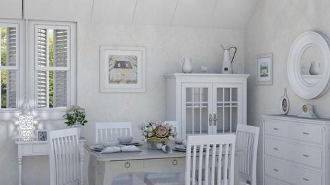 M_C - Country - Dining room - by milyca8