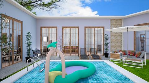 swimming pool - Modern - by zayneb_17