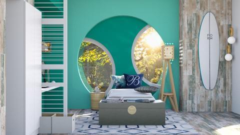 tennis room remix surfing - Bedroom  - by Doraisthe_nameofmydoggo12345
