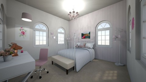Amelias room  - by karissarocks101