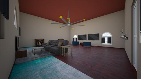 Living room - Rustic - Living room  - by Ethan Carter123