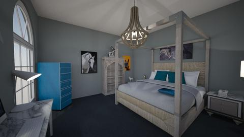Morgans room - Bedroom  - by Lili Cooley