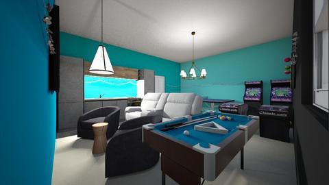 family game room - Kids room  - by bailylfc