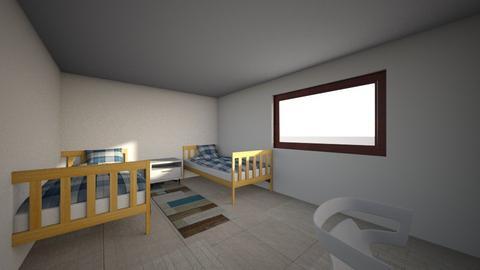 adssdf - Bedroom  - by AMANDA REQUEJO LOZANO