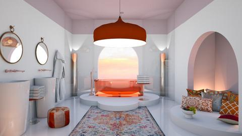 Modern arabian bath - Bathroom  - by chania