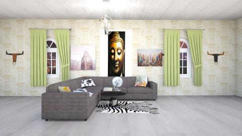 Travel time - Living room  - by Grat_rat