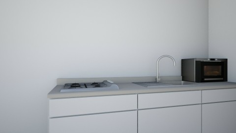 appartment 1 - Kitchen  - by the desingner
