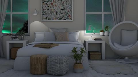 stormy evening - Bedroom  - by Tuija
