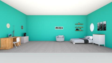 Art design room  - Vintage - Bedroom  - by kkgymnast66
