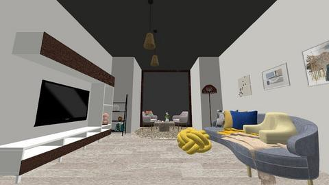 City apartment view - Living room  - by DargisD120