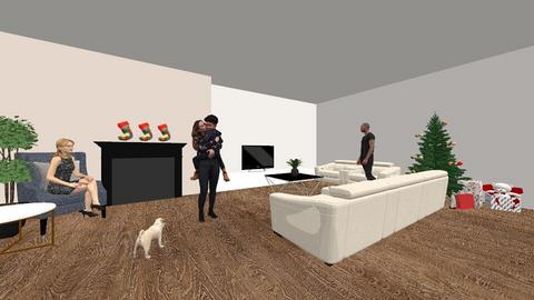 My xmas living room - Modern - by Migle Lapinskyte