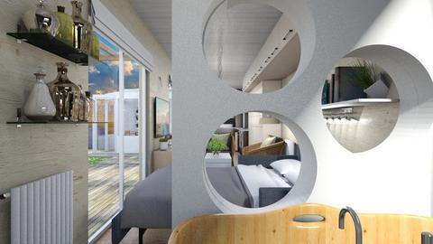 Container home peek - Eclectic - by augustmoon