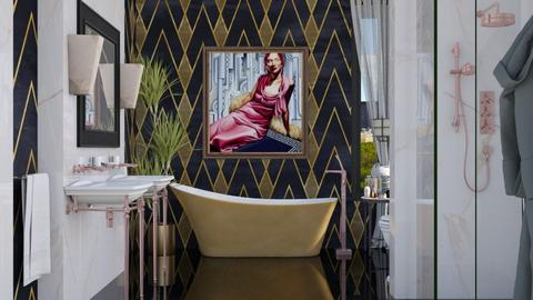 Art Deco  - Bathroom  - by Lizzy0715