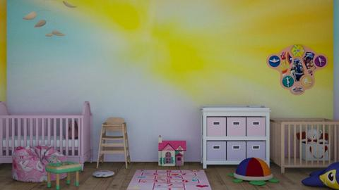Pastel Nursery - Classic - Kids room  - by Seaotter22