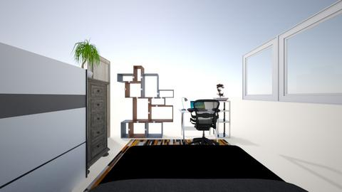 Ma chambre - Modern - Bedroom  - by Nicolass114