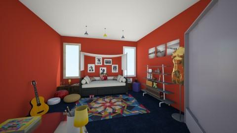 Beatles mania - Glamour - Bedroom  - by Glendyx