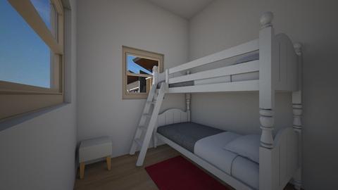Guest room - Modern - Bedroom  - by iancarlg