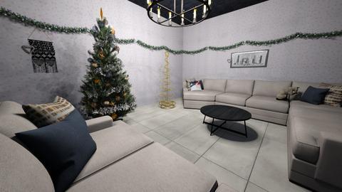 cuarto para navidad - Living room  - by Yamile2008