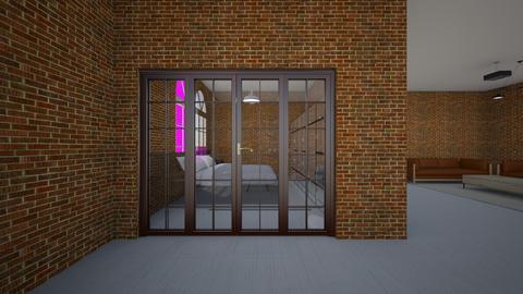 Apt bedroom entrance  - by saratevdoska