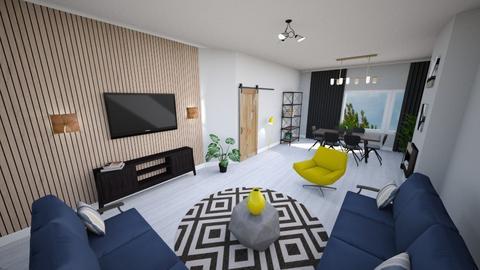 wlasny3 - Living room  - by annamcias