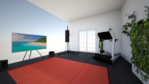 Home gym - Modern - by Boba Boba Teaaaaaaa