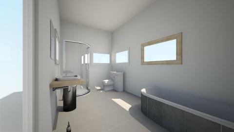 calm - Rustic - Bathroom  - by Helena13