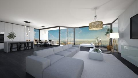 Modern with windows - Modern - Living room  - by Noa Jones