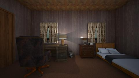 Cabin Room - Bedroom  - by mspence03