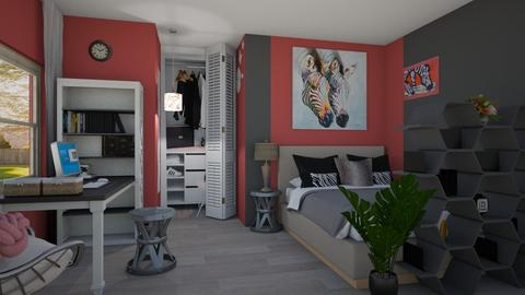 Remix_remix_girl room - Bedroom  - by PAPIdesigns